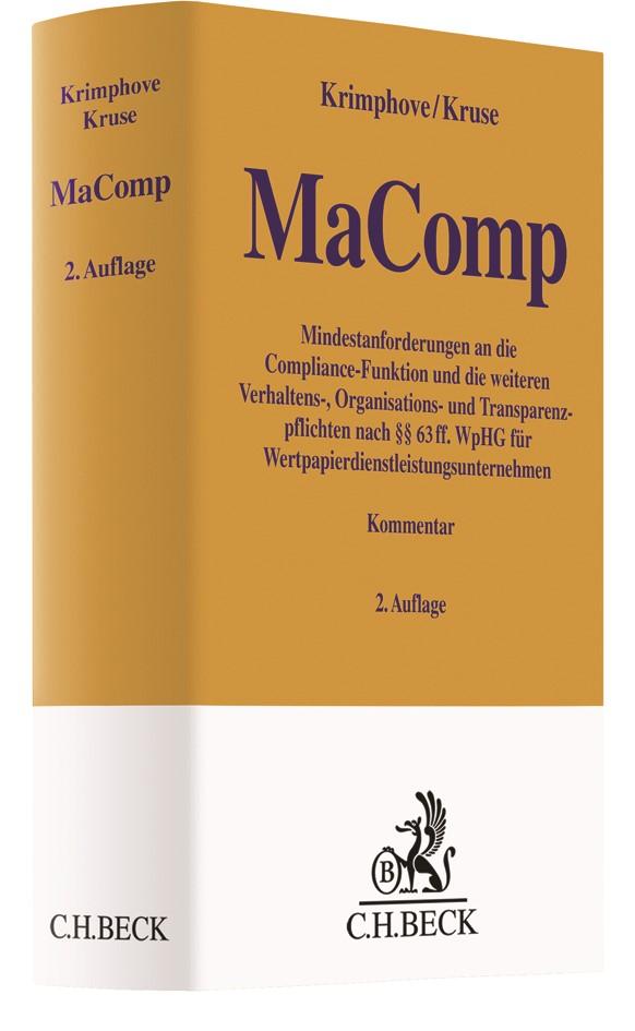 MaComp | Krimphove / Kruse | 2. Auflage, 2019 | Buch (Cover)
