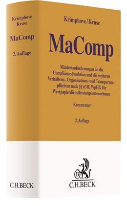 Abbildung von Krimphove / Kruse | MaComp | 2. Auflage | 2019 | Mindestanforderungen an die Co...