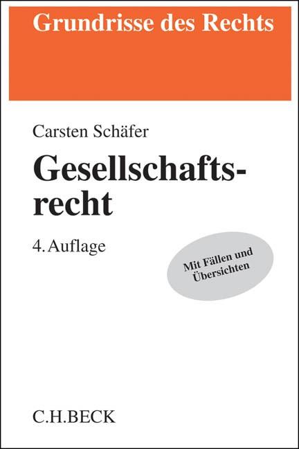 Gesellschaftsrecht | Schäfer | Buch (Cover)