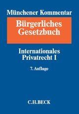 Münchener Kommentar zum Bürgerlichen Gesetzbuch: BGB, Band 11: Internationales Privatrecht I, Europäisches Kollisionsrecht, Einführungsgesetz zum Bürgerlichen Gesetzbuche (Art. 1-26) | 7. Auflage, 2017 | Buch (Cover)