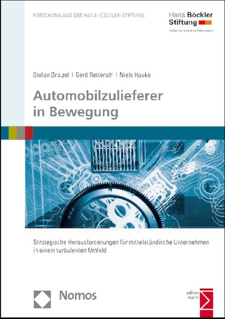 Automobilzulieferer in Bewegung | Bratzel / Retterath / Hauke, 2015 | Buch (Cover)