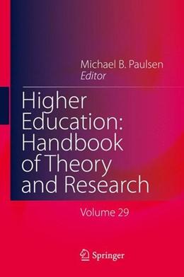 Abbildung von Paulsen   Higher Education: Handbook of Theory and Research 29   2014   2014
