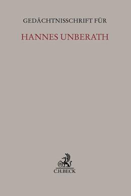 Abbildung von Gedächtnisschrift für Hannes Unberath   2015