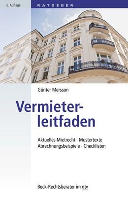Abbildung von Mersson | Vermieterleitfaden | 6. Auflage | 2015 | Aktuelles Mietrecht, Mustertex... | 50791