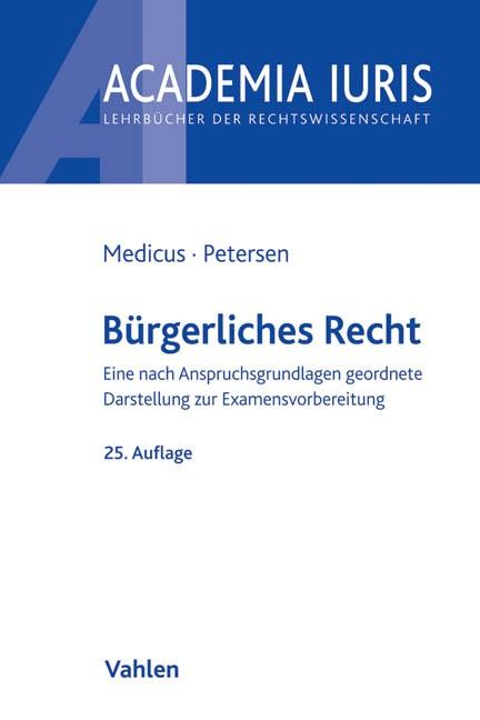 Bürgerliches Recht | Medicus / Petersen | Buch (Cover)
