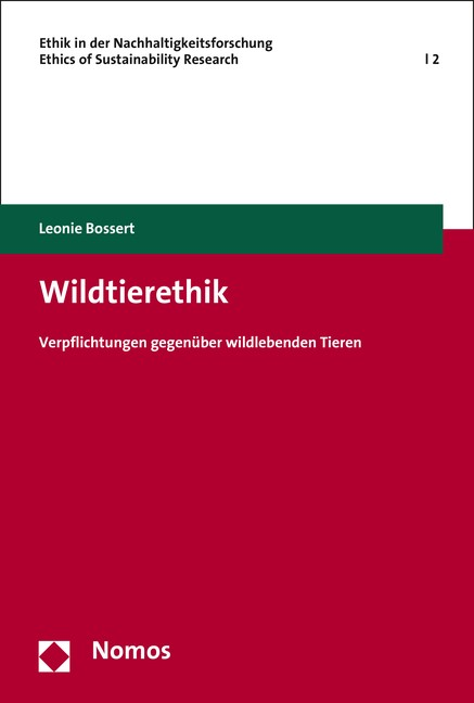 Wildtierethik | Bossert, 2015 | Buch (Cover)