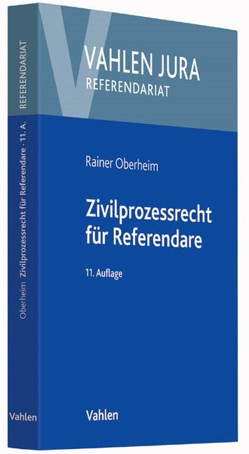 Zivilprozessrecht für Referendare   Oberheim   Buch (Cover)