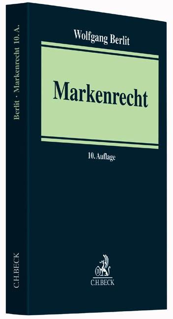 Markenrecht | Berlit | Buch (Cover)