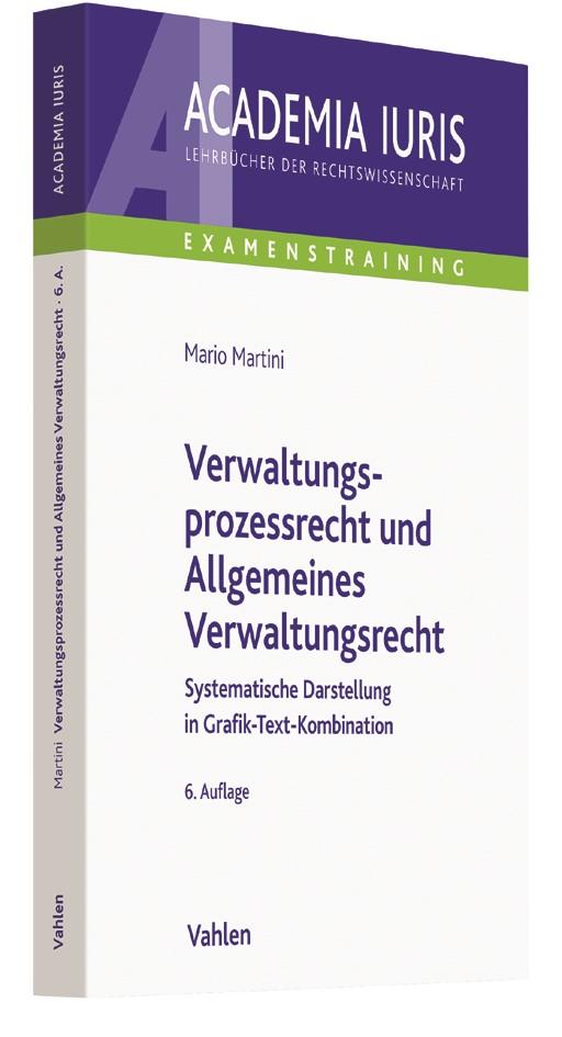 Verwaltungsprozessrecht und Allgemeines Verwaltungsrecht | Martini | 6., völlig überarbeitete und erweiterte Auflage, 2017 | Buch (Cover)