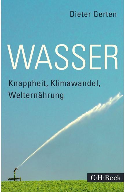 Cover: Dieter Gerten, Wasser