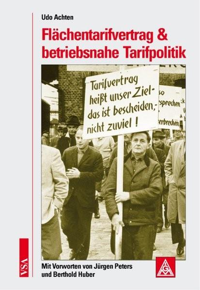 Abbildung von Achten | Flächentarifvertrag & betriebsnahe Tarifpolitik | 2007