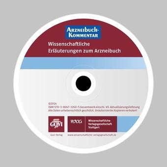 Arzneibuch-Kommentar CD-ROM VOL 49 | Bracher / Heisig / Langguth / Mutschler / Rücker / Schirmeister / Scriba / Stahl-Biskup / Troschütz, 2015 (Cover)