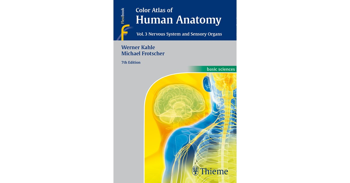 Color Atlas Of Human Anatomy Vol 3 Kahle Frotscher 7th