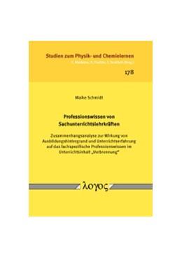 Abbildung von Schmidt | Professionswissen von Sachunterrichtslehrkräften | 2015 | Zusammenhangsanalyse zur Wirku... | 178