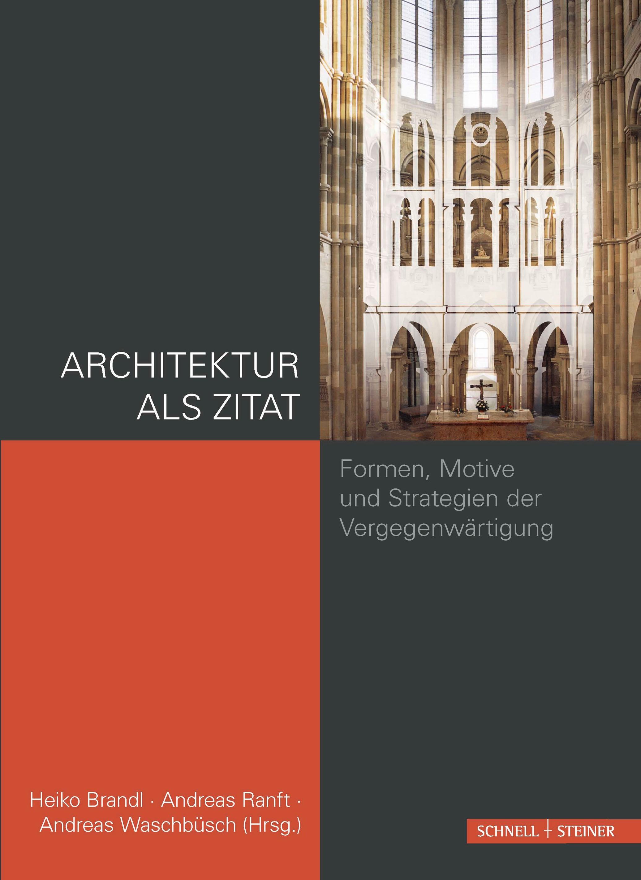 Architektur als Zitat | Brandl / Ranft / Waschbüsch, 2014 | Buch (Cover)
