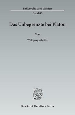 Abbildung von Scheffel | Das Unbegrenzte bei Platon | 2015 | 86