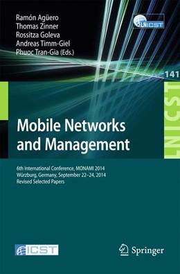 Abbildung von Agüero / Zinner | Mobile Networks and Management | 1. Auflage | 2015 | 141 | beck-shop.de