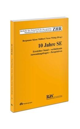 Abbildung von Mülbert / Kiem / Wittig / Bergmann / Verse | 10 Jahre SE | 1., Auflage 2015 | 2015 | Erreichter Stand - verbleibend... | 77