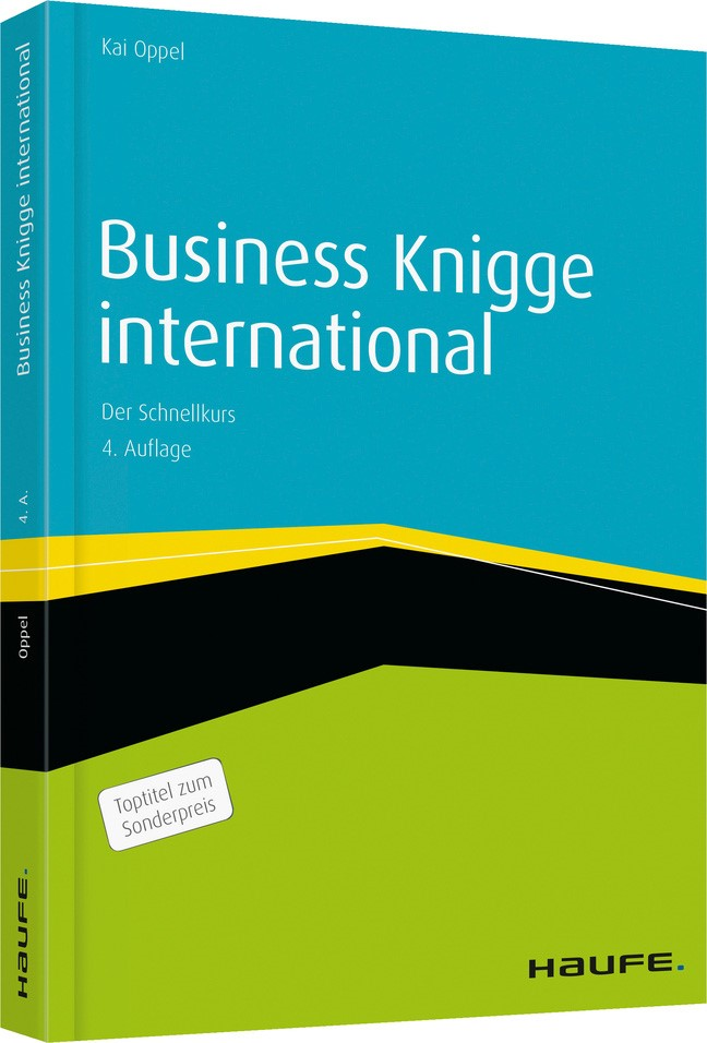 Business Knigge international | Oppel | 4. Auflage, 2015 | Buch (Cover)