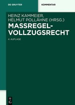 Maßregelvollzugsrecht | Kammeier / Pollähne (Hrsg.) | 4., neu bearbeitete Auflage, 2018 | Buch (Cover)