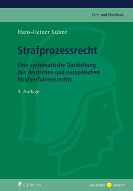 Abbildung von Kühne | Strafprozessrecht | 9. Auflage | 2015 | beck-shop.de