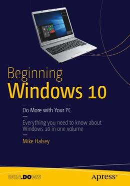 Abbildung von Halsey | Beginning Windows 10 | 1. Auflage | 2015 | beck-shop.de