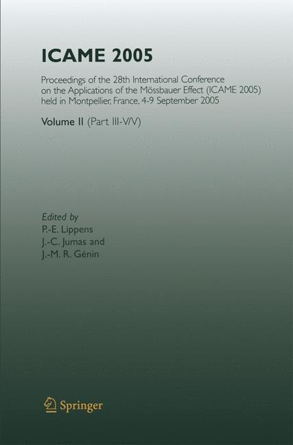 Abbildung von Lippens / Jumas / Génin | ICAME 2005 | 2007 | 2014