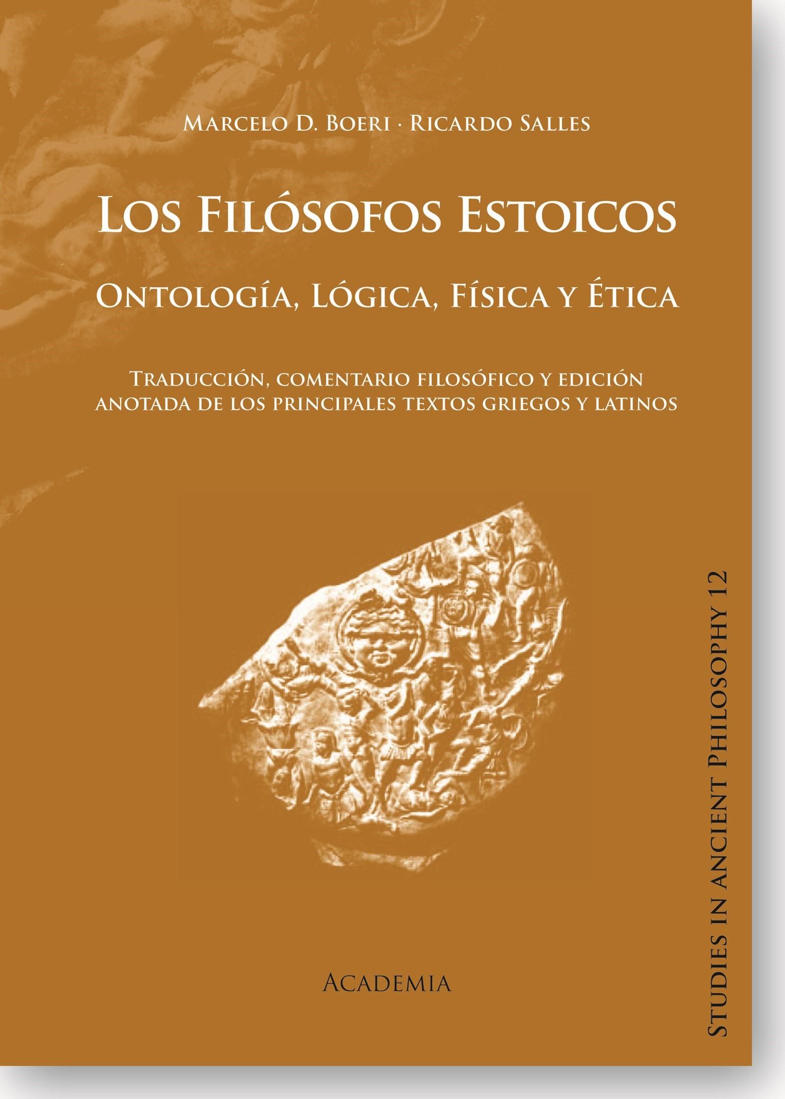Abbildung von Boeri / Salles   Los Filósofos Estoicos: Ontología, Lógica, Física y Ética   1.   2014