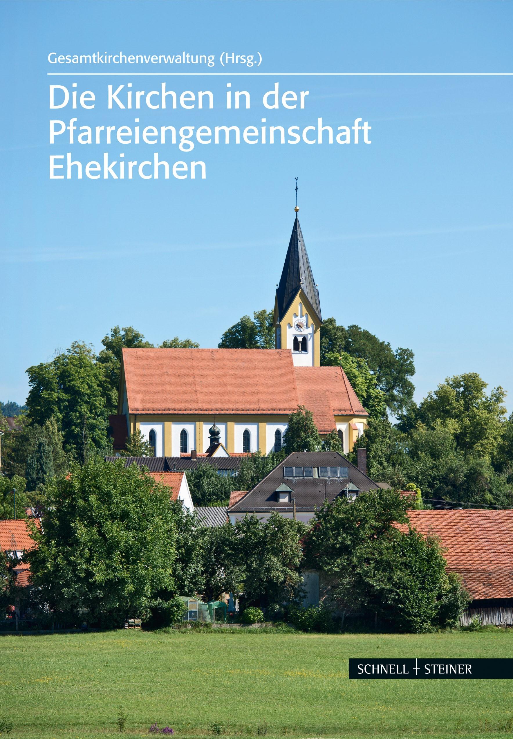 Abbildung von Gesamtkirchenverwaltung Ehekirchen | Die Kirchen in der Pfarreiengemeinschaft Ehekirchen | 2014