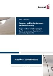 Anzeige- und Bedienkonzepte im Elektrofahrzeug | Braumann, 2015 | Buch (Cover)