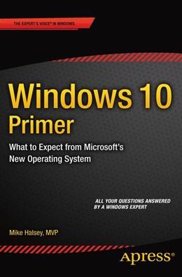 Abbildung von Halsey | Windows 10 Primer | 1. Auflage | 2015 | beck-shop.de