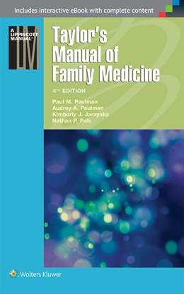 Abbildung von Paulman / Jarzynka   Taylor's Manual of Family Medicine   2015