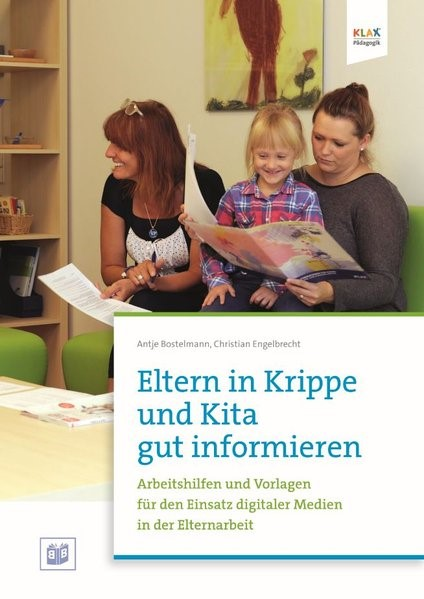 Eltern in Krippe und Kita gut informieren | Bostelmann, 2017 | Buch (Cover)