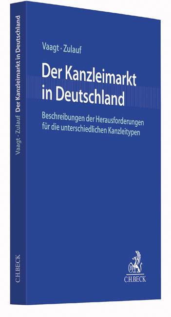 Der Kanzleimarkt in Deutschland | Vaagt / Zulauf, 2017 | Buch (Cover)