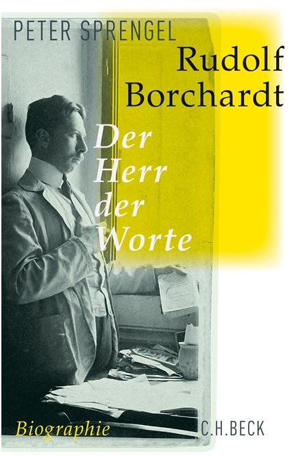 Cover: Peter Sprengel, Rudolf Borchardt