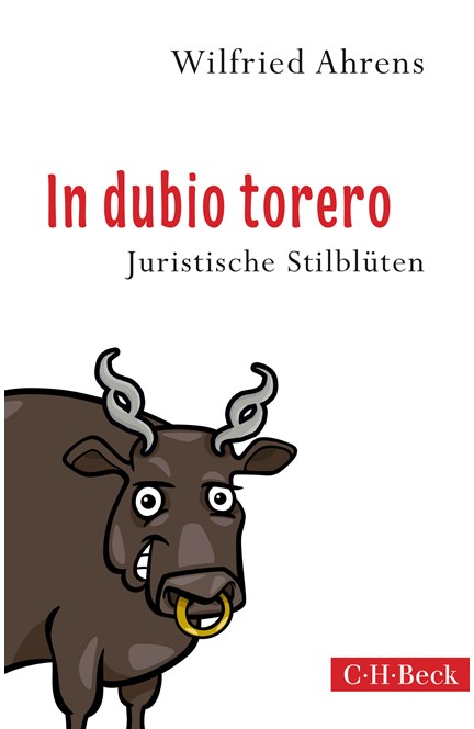 Cover: Wilfried Ahrens, In dubio torero