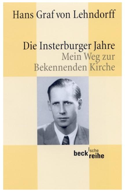 Cover: Hans Lehndorff, Die Insterburger Jahre