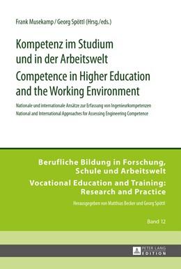 Abbildung von Spöttl / Musekamp | Kompetenz im Studium und in der Arbeitswelt- Competence in Higher Education and the Working Environment | 1. Auflage | 2015 | 12 | beck-shop.de