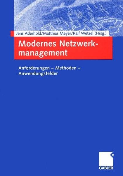 Abbildung von Aderhold / Rosenberger / Wetzel | Modernes Netzwerkmanagement | 2005 | 2015