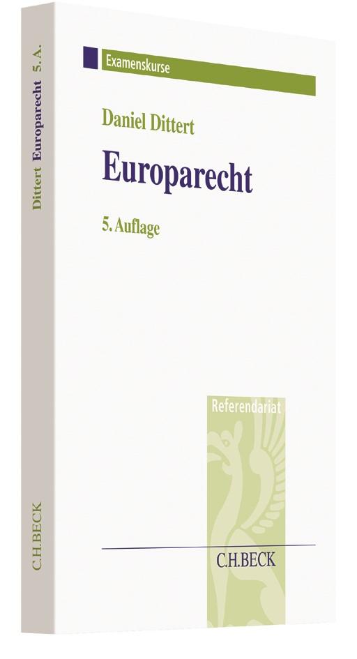 Europarecht | Dittert | 5., neu bearbeitete Auflage, 2017 | Buch (Cover)