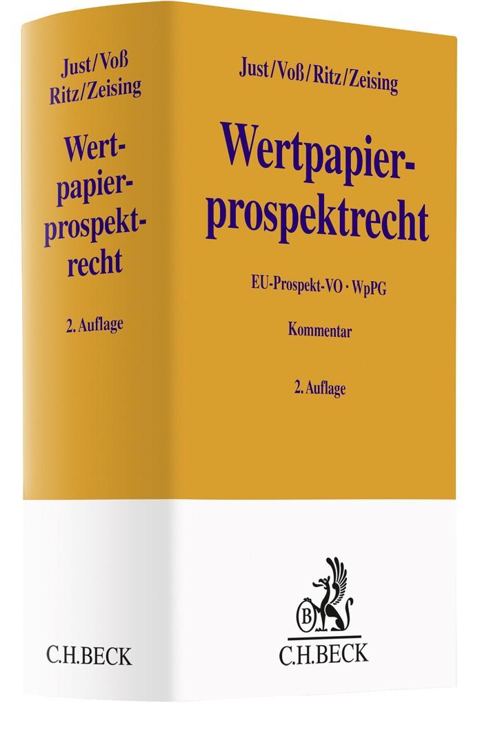 WpPG | Just / Voß / Ritz / Zeising | 2. Auflage, 2019 | Buch (Cover)