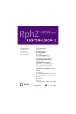 Abbildung von RphZ • Rechtsphilosophie | 4. Auflage | 2020 | beck-shop.de