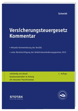 Abbildung von Schmidt | Versicherungsteuergesetz Kommentar | 2015