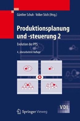 Abbildung von Schuh / Stich   Produktionsplanung und -steuerung 2   4. Aufl. 2012   2012