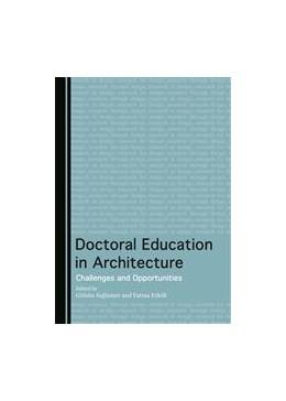 Abbildung von Saglamer / Erkök | Doctoral Education in Architecture | 1. Auflage | 2015 | beck-shop.de