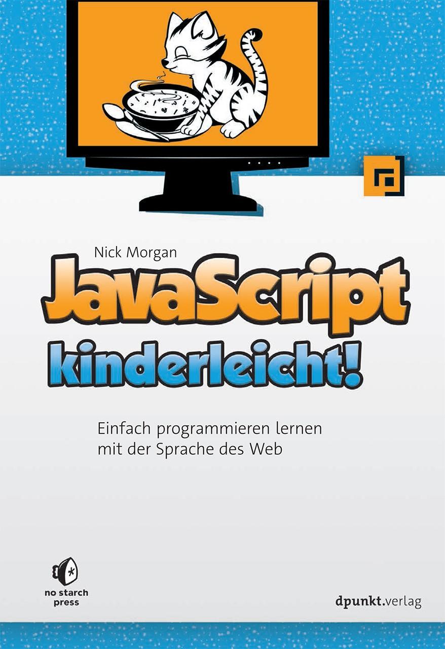 JavaScript kinderleicht! | Morgan, 2015 | Buch (Cover)
