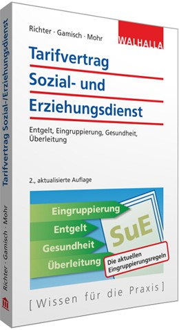 Abbildung von Richter / Gamisch / Mohr | Tarifvertrag Sozial- und Erziehungsdienst | 2., aktualisierte Auflage | 2016 | Entgelt, Eingruppierung, Gesun...