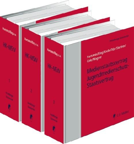 Rundfunkstaatsvertrag Jugendmedienschutz-Staatsvertrag  • mit Aktualisierungsservice | Hartstein / Ring / Kreile / Dörr / Stettner / Cole / Wagner | Loseblattwerk mit 77. Aktualisierung (Cover)