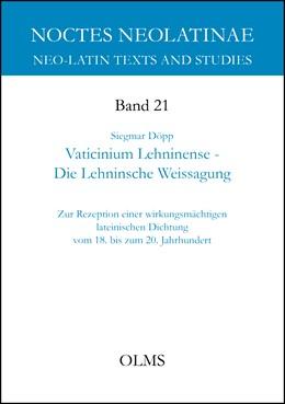 Abbildung von Döpp   Vaticinium Lehninense - Die Lehninsche Weissagung   1. Auflage   2015   21   beck-shop.de