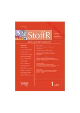 Abbildung von Zeitschrift für Stoffrecht - StoffR | 17. Jahrgang | 2020